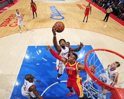 Houston Rockets v Los Angeles Clippers- Game Four by Bill Baptist