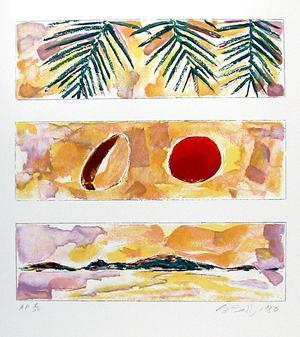 Rising Sun - Falling Coconut by Bill Beckley