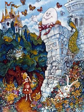 Alice and Humpty Dumpty by Bill Bell
