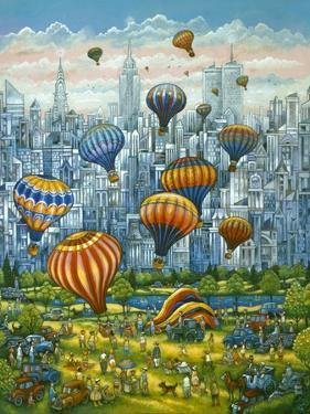 Central Park Balloons by Bill Bell