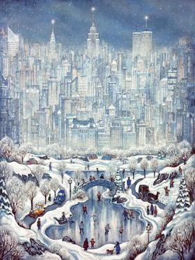 Central Park Snow by Bill Bell