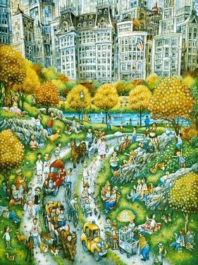 Central Park Sunday by Bill Bell