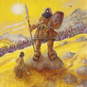 David and Goliath by Bill Bell