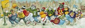 Hoop Cats by Bill Bell