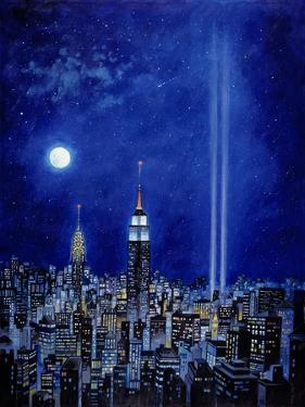 New York Lights 2002 by Bill Bell