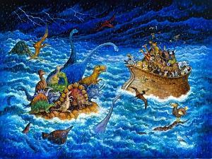 Noah and the Dinosaurs by Bill Bell