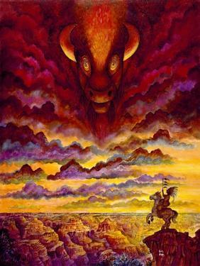 Raging Buffalo by Bill Bell
