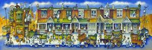 Row of Houses Long by Bill Bell