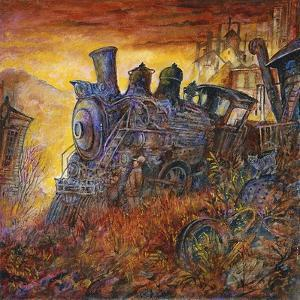 Rusty Train by Bill Bell