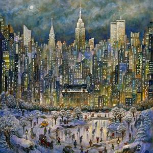 Snowtime in New York by Bill Bell