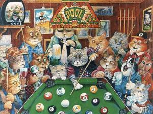 The Hustler (Pool Cats) by Bill Bell