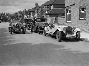 1930 Alfa-Romeo, Chrysler Coupe and Bugatti Type 43 2262cc by Bill Brunell