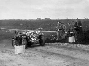 1933 Wolseley Hornet Special competing in a motoring trial, Bagshot Heath, Surrey, 1930s by Bill Brunell