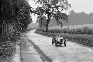 Austin Ulster of Archie Frazer-Nash competing in the RAC TT Race, Ards Circuit, Belfast, 1929 by Bill Brunell