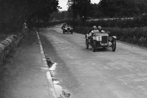 Austin Ulsters of SV Holbrook and Archie Frazer-Nash, RAC TT Race, Ards Circuit, Belfast, 1929 by Bill Brunell
