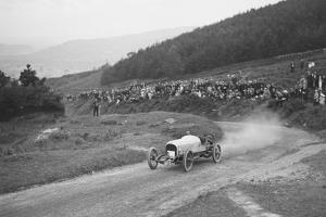 Bertie Kensington Moirs Bentley stripped 2-seater, Caerphilly Hillclimb, Wales, 1923 by Bill Brunell