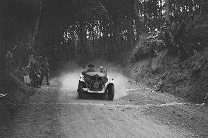 Fiat Balilla taking part in a motoring trial, c1930s by Bill Brunell