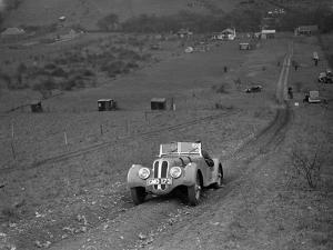 Frazer-Nash BMW 328 of H Wood at the London Motor Club Coventry Cup Trial, Knatts Hill, Kent, 1938 by Bill Brunell