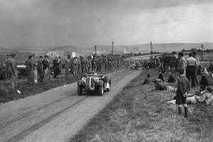 Frazer-Nash BMW competing in the Bugatti Owners Club Lewes Speed Trials, Sussex, 1937 by Bill Brunell