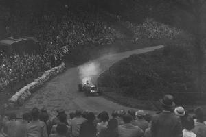 Riley Racing Six of Freddie Dixon competing in the Shelsley Walsh Hillclimb, Worcestershire, 1935 by Bill Brunell