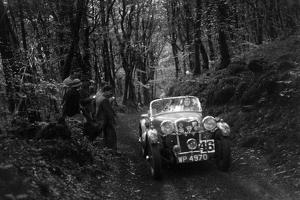 Singer Le Mans competing in the Mid Surrey AC Barnstaple Trial, 1934 by Bill Brunell
