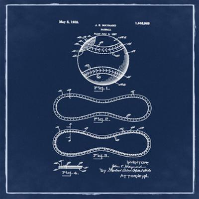 Baseball, 1927-Blue by Bill Cannon
