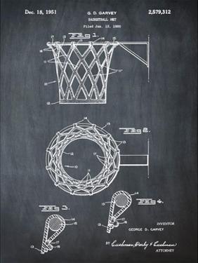 Basketball net, 1950-Chalkboar by Bill Cannon