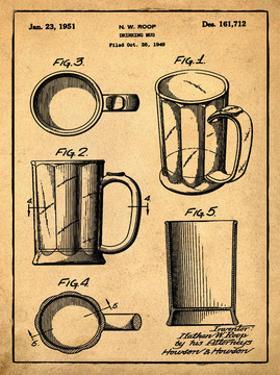 Beer Mug 1951 in Sepia by Bill Cannon