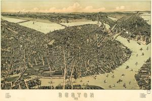 Boston - 1899 by Bill Cannon