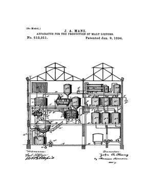 Brewing Malt Liquors 1894 by Bill Cannon