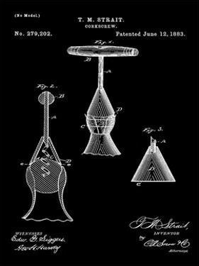Corkscrew 1883 Black by Bill Cannon