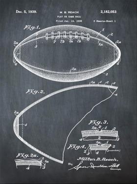 Football, 1938-Chalkboard by Bill Cannon