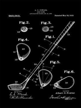 Golf Club, 1909-Brown II by Bill Cannon