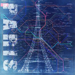 PARIS- Blue by Bill Cannon