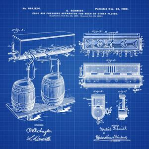 Schmidts Tap 1900 Blueprint by Bill Cannon
