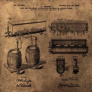 Schmidts Tap 1900 Vintage by Bill Cannon