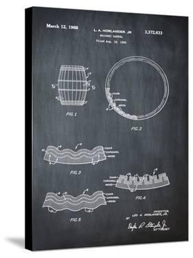Whiskey Barrel Chalk by Bill Cannon