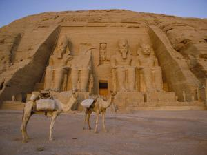 A View of the Ramses Ii Temple by Bill Ellzey