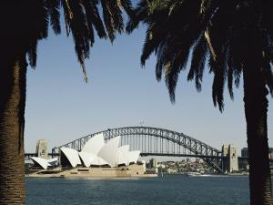 A View of the Sydney Opera House and Harbour Bridge by Bill Ellzey