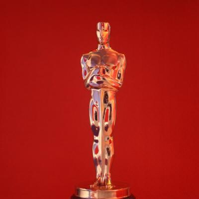 Oscar Statuette at Academy Awards Theater, Hollywood