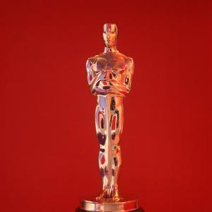 Oscar Statuette at Academy Awards Theater, Hollywood by Bill Eppridge