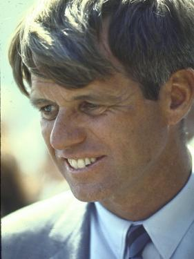 Presidential Contender Bobby Kennedy During Campaign by Bill Eppridge