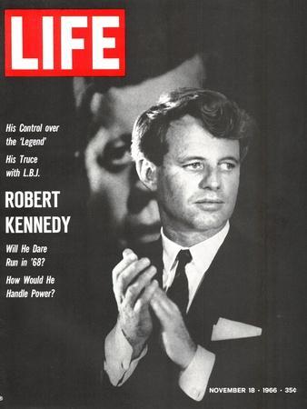 Robert Kennedy, Will He Dare Run in 68, November 18, 1966