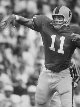 Univ. of Florida Quarterback Steve Spurrier, Top Professional Football Draft Pick by Bill Eppridge