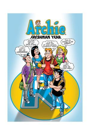 Archie Comics Cover: Archie No.587 Freshman Year