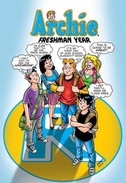 Archie Comics Cover: Archie No.587 Freshman Year by Bill Galvan