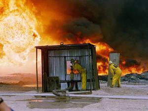 1991 Gulf War Oil Fires by Bill Haber