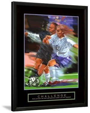 Challenge: Soccer by Bill Hall