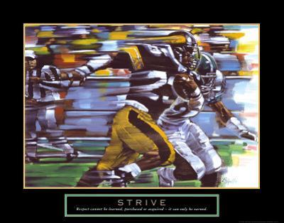 Strive: Football by Bill Hall