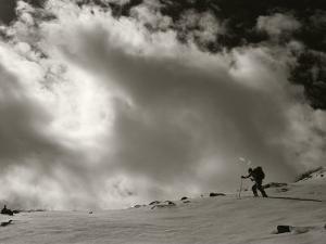 Backcountry Skiing on Hesperus Peak, San Juan Mountains, Colorado by Bill Hatcher